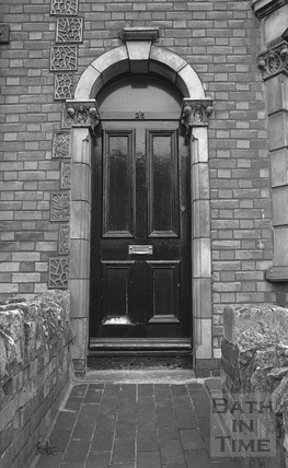 Doorway, 28 Avondale Road, Lwer Weston c.1974
