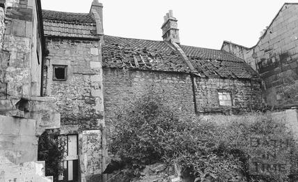 Lampard's Buildings, Morford Street in 1972