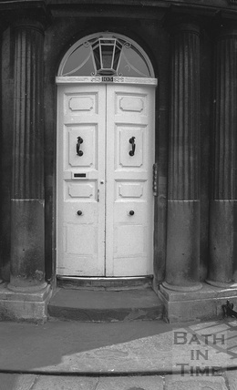 Bath doorway, Sydney Place and Darlington Street c.1974