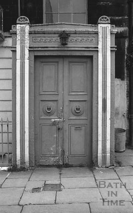 Doorway, 24 Great Stanhope Street c.1974