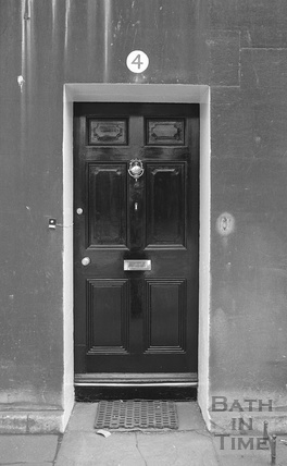 Unidentified Bath doorway c.1974