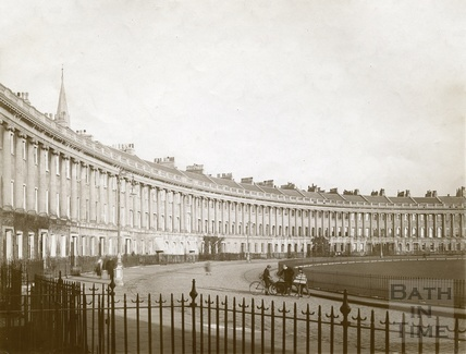 Royal Crescent, Bath c.1903