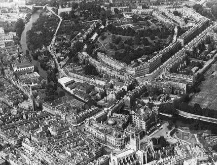 c.1930 Aerial view of the Bathwick Estate looking north