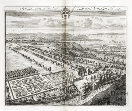 Kingsweston, the Seat of Edward Southwell Esq. by Johannes Kip 1712