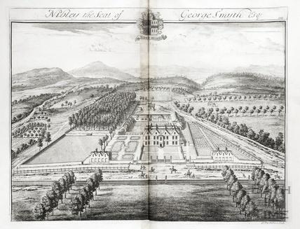Nibley, the Seat of George Smyth Esq. by Johannes Kip 1712