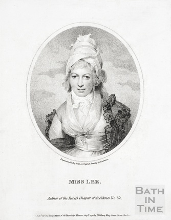 Miss Sophia Lee, author of the Recess Chapter of Accidents etc. 1797