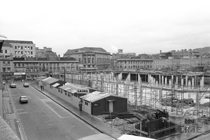 The Southgate Centre under construction, 1972
