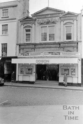 The Odeon Cinema Southgate Street, 15 October 1962