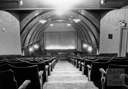 Inside the Odeon Cinema, Southgate Street c.1970