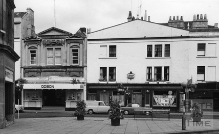 The Odeon Cinema, Southgate Street, Bath, August 1966
