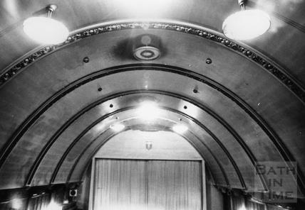 Inside the Odeon Cinema, Southgate Street c.1970