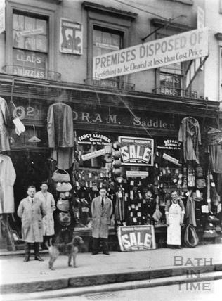 Ethelbert Oram Saddlers, 32 Southgate Street c.1920s