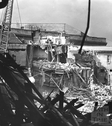 Demolition of the old Southgate Street, 11 Oct 1971