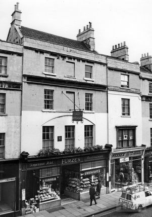 Furzes Hotel and Cafe, No 12 Southgate Street, November 1967