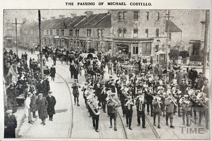 The passing of Michael Costello, funeral procession Nov 1923