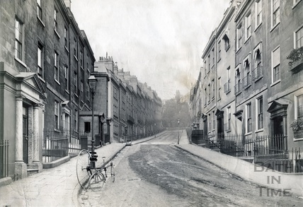 Park Street, looking towards All Saint's Chapel c.1890