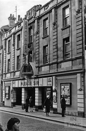 The Beau Nash Cinema, Westgate Street March 1972