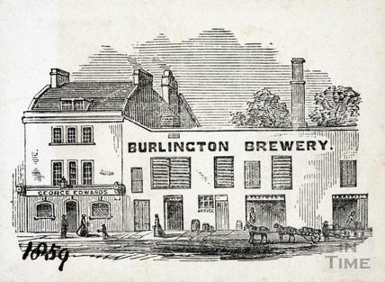 The Burlington Brewery, Julian Road, Bath 1859