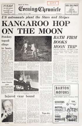 Man on the moon 21 July 1969