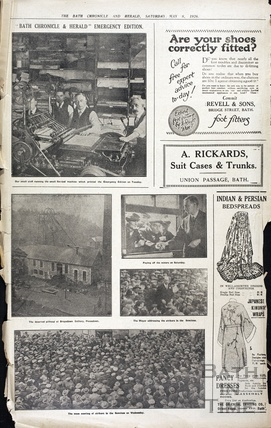 Bath Blitz edition of the Chronicle, May 2 1942