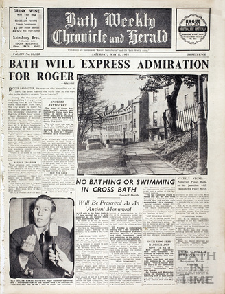 Roger Bannister 4 minute mile edition May 8 1954