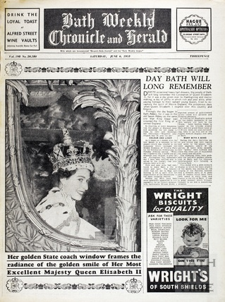 The Coronation of Queen Elizabeth II June 6th 1953