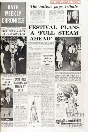 Death of Winston Churchill Jan 30 1965