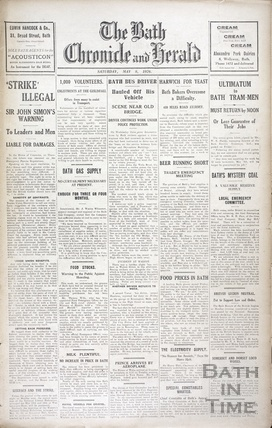 The General Strike May 8 1926