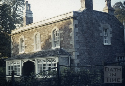 Gothic Cottage, Sion Hill, c.1974?