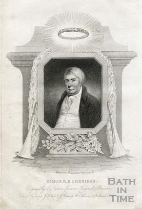 Rt Hon R. B. Sheridan 1808