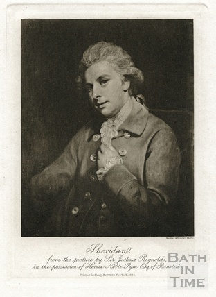 Sheridan from the picture by Sir Joshua Reynolds