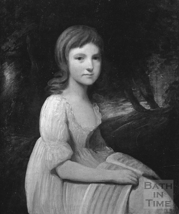 Elizabeth Linley, from a portrait by Thomas Gainsborough