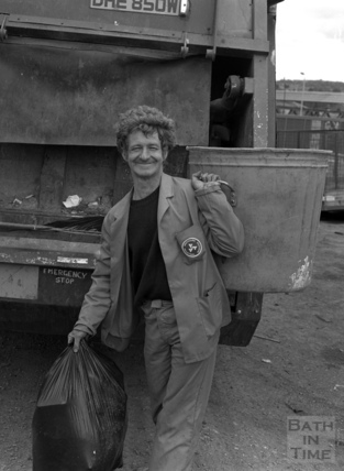 Ivor Jones, municipal bin man, May 1987