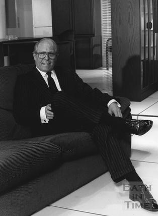 Ken Fullalove, former owner of Bath Cabinet Makers, March 1990