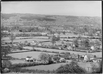 View from the hills of Langford, Somerset No.1 9 March 1939