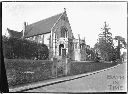 Churchill nr.Langford, Somerset June 1935