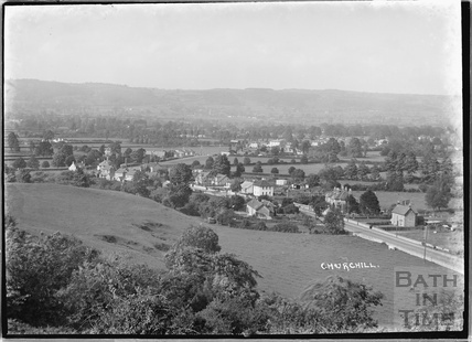 View of Churchill nr.Langford, Somerset June 1935