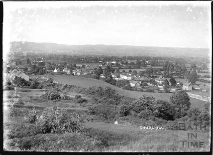 View of Churchill nr.Langford, Somerset June 1935
