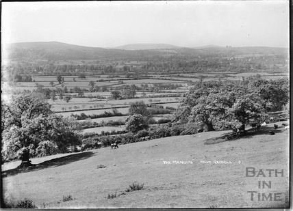 View of the Mendips from Redhill No.3 June 1935