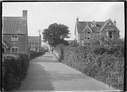 Unidentified Lane, Langford, Somerset c. 1935