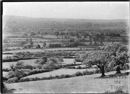 View of the Mendips (Dolbury Camp) from Redhill No.2 June 1935