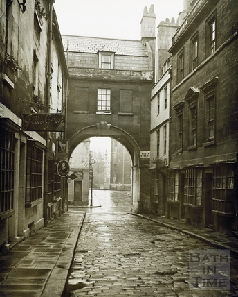 An early view of Queen Street, Bath c.1920