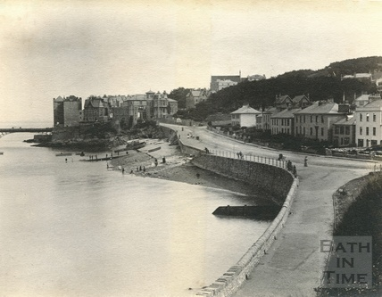 An early view of Clevedon 1892