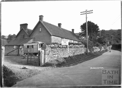 Burrington Farm teas and bed & breakfast, Somerset March 1935