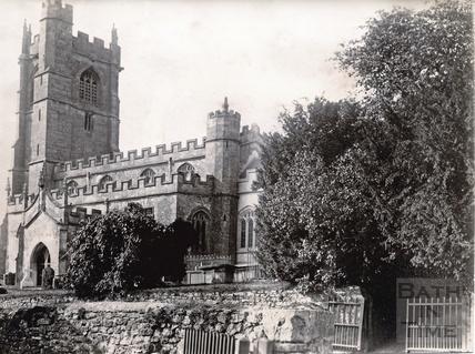 Wellow Church, 1892