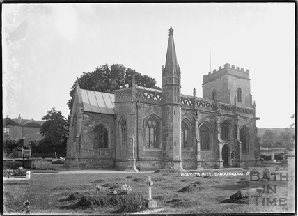 Holy Trinity church, Burrington No.5, Somerset March 1935