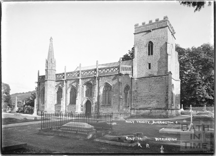 Holy Trinity church, Burrington No.6, Somerset February 1935