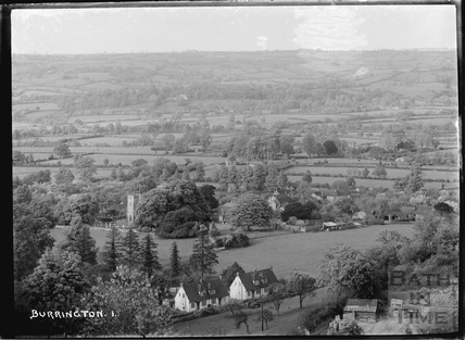 View of Burrington No.1 Somerset March 1935