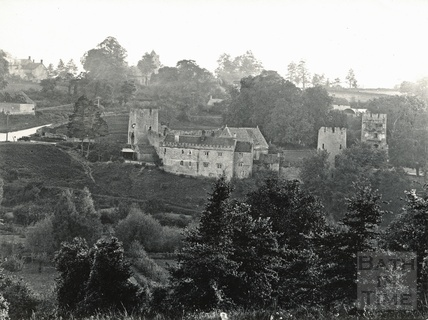 View of Farleigh Castle, Farleigh Hungerford c.1910