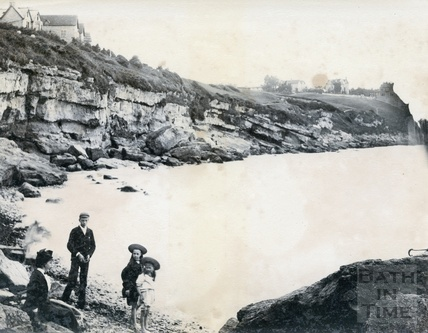 Ladies Bay, Clevedon 1892